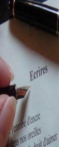 Ateliers d'écriture Frédérique MARTIN