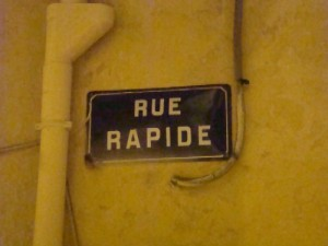 Rue rapide - F.Martin