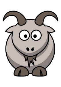 A la saint Martin, mène la chèvre au bouquin !
