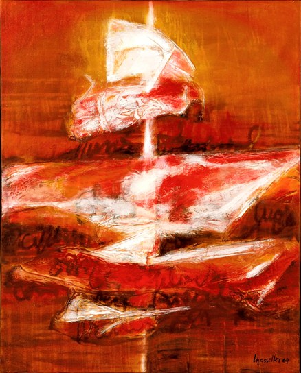 Maggy Masselter - Huile sur toile - 2009